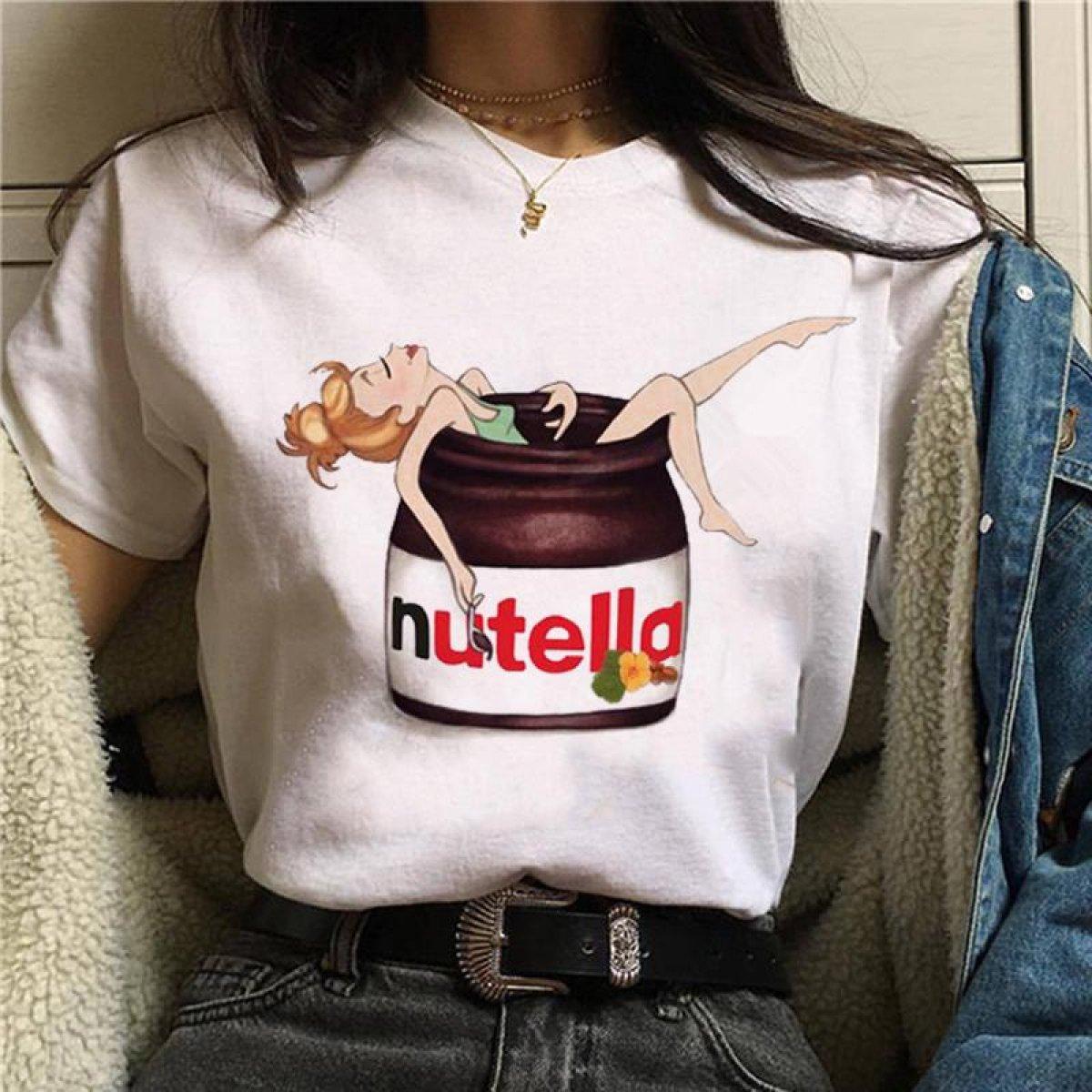 Nutella Kawaii T-Shirt Women