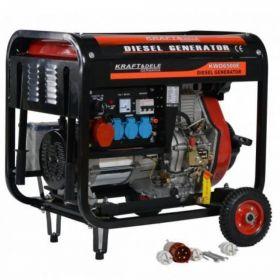 Agregat Prądotwórczy Diesel 7000W 12/230/380V