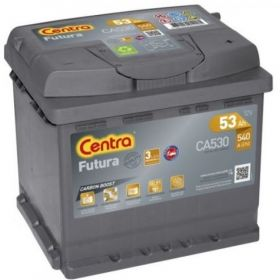 AKUMULATOR CENTRA FUTURA 53AH 540A 53 AH NEW MODEL