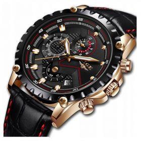 LIGE Zegarek męski klasyczny