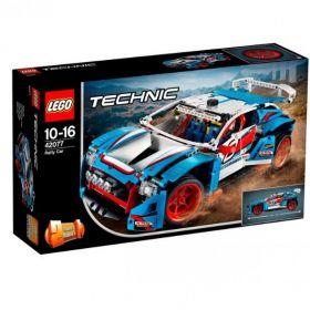 LEGO Technic Klocki Niebieska wyścigówka 42077