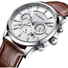 Zegarek Męski CUENA | Klasyczny Skóra + Pudełko