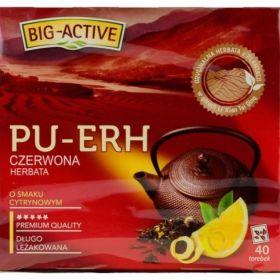 Big-Active pu-erh lemon Ex40 cytrynowa