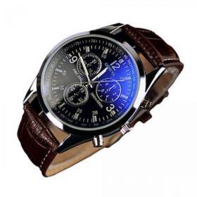 A74 Męski zegarek biznesowy rękę GENEVA LUXARY MIX