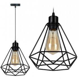 LAMPA SUFITOWA WISZĄCA W STYLU LOFT RENO E27