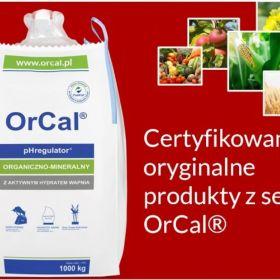 Tanie odkwaszanie gleby - OrCal, aktywny hydrat wapnia, od producenta