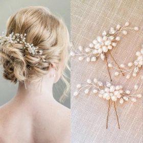 Biżuteria do włosów, szpilki do włosów Crystal Bridesmaid