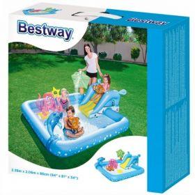 Wodny plac zabaw basen zjeżdżalnia BESTWAY 53052