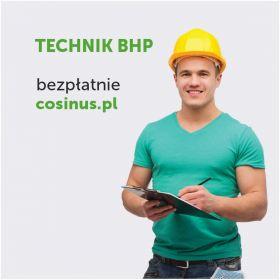 Technik BHP- kierunek dostepny za darmo w Cosinus!