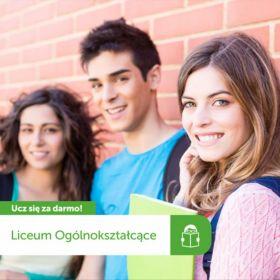 Bezpłatne Liceum Ogólnokształcące dla dorosłych Cosinus!