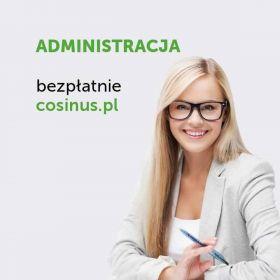 Kierunek Administracja dostępny za darmo w Cosinusie!