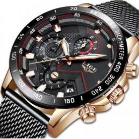 Klasyczny Elegancki Sportowy Zegarek Męski
